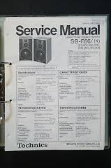 technics sb f original speaker service manual service manual image is loading technics sb f66 original speaker service manual service
