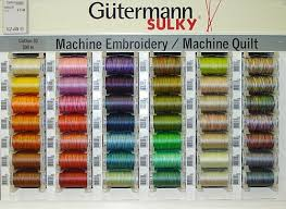 Gutermann Embroidery Thread | makaroka.com & Thread For Sewing And Embroidery At A London Haberdashery UK Adamdwight.com