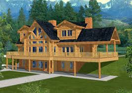 lake cabin plans with walkout basement or 21 beautiful house plans with daylight basement