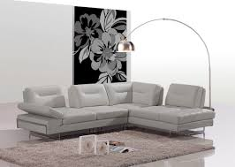 your bookmark products 4 800 00 carmel modern taupe italian leather sectional