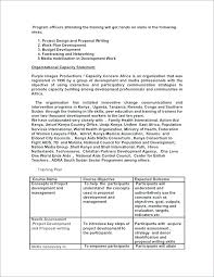 Course Proposal Template Training Course Proposal Template G And Development Research