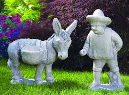 donkey garden ornaments lofty ideas front yard design ideas for cottages retaining wall blocks des