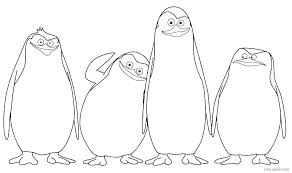Penguins Coloring Page Baby Penguin Coloring Pages Penguins Coloring