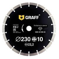 <b>Диск</b> алмазный отрезной 230x2.6x22.2 <b>GRAFF GDD</b> 18 230.10 ...