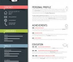 creative resume templates downloads resume vector for free download