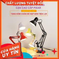 Đèn bàn học làm việc có chân kẹp bàn pixar và đấ tròn - Sắp xếp theo liên  quan sản phẩm