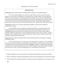 essay questions de venoge ela opposing forces in romeo and juliet important