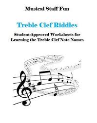 Music Staff Treble Clef Treble Clef Staff Riddles A Fun Way To Learn Note Names By Musical