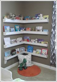 wall mounted book shelves are