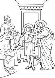 Small Picture Temple As A Boy Coloring Page boy jesus in the temple coloring