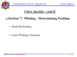 United States Power Squadrons Chart Smart Usps