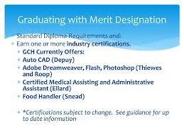 Merit Designation Ppt Junior Planning Night Powerpoint Presentation Free