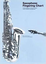 B Flat Baritone Finger Chart Buy Saxophone Fingering Chart For B Flat Soprano E Flat