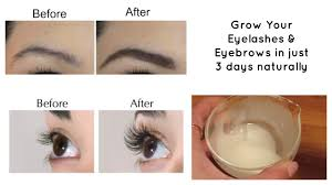 grow your eyelashes eyebrows in just 3 days eyelash and eyebrow serum you