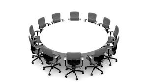 4k white round table with stock footage 100 royalty free 5658980 shutterstock