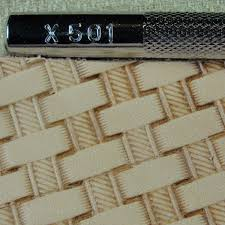 craft japan x501 rope basket weave stamp leather stamping tool 4 4 of 6 see more