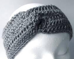 Ear Warmer Crochet Pattern Extraordinary Crochet Ear Warmer Pattern For Women Pdf Crochet Pattern Etsy