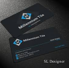 Luxury Gallery Tile Business Cards Business Cards And Resume