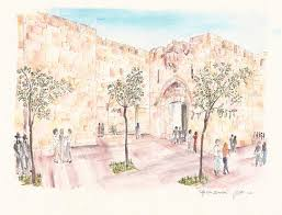 architectural drawings of famous buildings.  Drawings Sketches Of Jerusalem Travel Art Painting For Architectural Drawings Of Famous Buildings