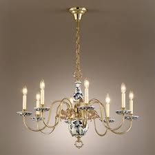porcelain lighting. White And Blue Porcelain Chandelier Lighting O