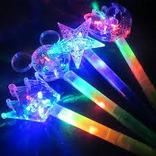 Light Up Flashing Princess Wand <b>LED Fairy</b> Magic Wand <b>Moon Star</b> ...