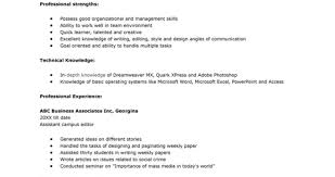 How To Write Targeted Resume Example Of Toreto Co Sample Samples A