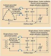 electrical rules and calculations for air conditioning systems fig 16 disconnecting means for single phase multi wire branch circuit supplying only one utilization equipment
