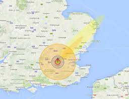 Nuke Map See What A Nuclear Bomb Would Do To Your Home Town
