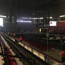 Save Mart Seating Chart Fresno Ca Save Mart Center Section 124 Rateyourseats Com
