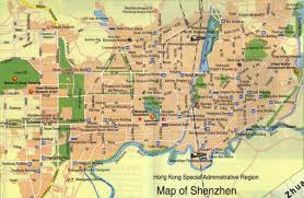 detailed traffic map of shenzhen shenzhen tour tours in shenzhen