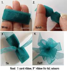 Easy step by step bow making. Used this last Christmas, but took up too  much ribbon.