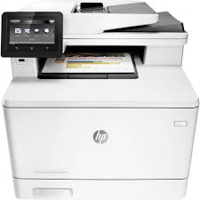 Hp Color Laserjet All In One Printer Copier Scanner Faxl
