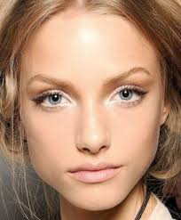 groomed arched eyebrows create a flattering frame for the eyes and anything that accentuates the eyes is going to make them appear larger