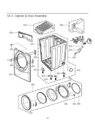 lg dryer parts. section 1 parts; 2 parts for lg dryer dle5955w / abweeus from appliancepartspros.com lg