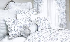french blue toile bedding. Beautiful French With Toiled Bedding  French Blue Toile Bedding N