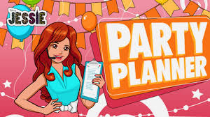 Party Planner Disney Series Jessie Party Planner Game For Kids Youtube