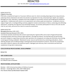 sample - Associate Attorney Resume