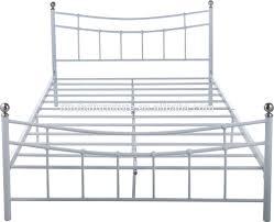 Metal Bedroom Furniture Bedroom Furniture Stainless Steel Frame Euro Size Metal Bed Frame