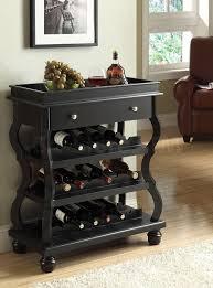 black wine cabinet. Delighful Wine Cecilia Black Wine Rack Intended Cabinet O