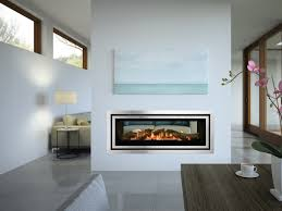 regency greenfire gf1500lst see through gas fireplace
