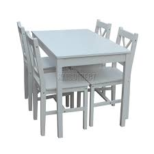 westwood quality solid wooden dining table and 4
