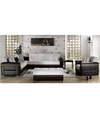7 Seater L Shaped Sofa Set with 2 Seater Settee