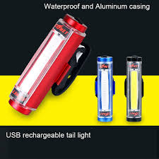 comet lighting. Aluminum COB USB Rechargeable Bicycle Light Taillight Comet LED Rear Tail  Bike Lamp Warning Safety Bycicle Cycling Light-in From Sports Comet Lighting
