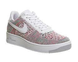 nike air force 1 office. Nike Air Force 1 Low Flyknit Radiant Emerald Multi - Junior Office