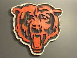 chicago bears decor bears wall art best sports decor images on wood chicago bears outdoor decor