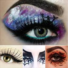let us know the steps to fashion a scary witch makeup