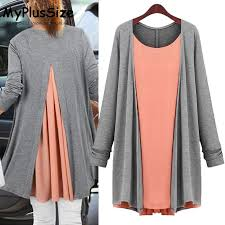 <b>XL</b>-<b>4XL Plus Size</b> T-shirts for Women 2016 Autumn Winter Loose ...