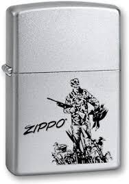 <b>Зажигалка Zippo</b> Classic <b>205 Duck Hunting</b> (серебристый)