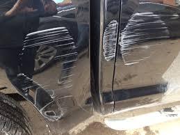 diy car scratch repair 白挣了一千多刀