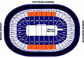 Flyers Game Seating Chart Wells Fargo Concerts Online Charts Collection